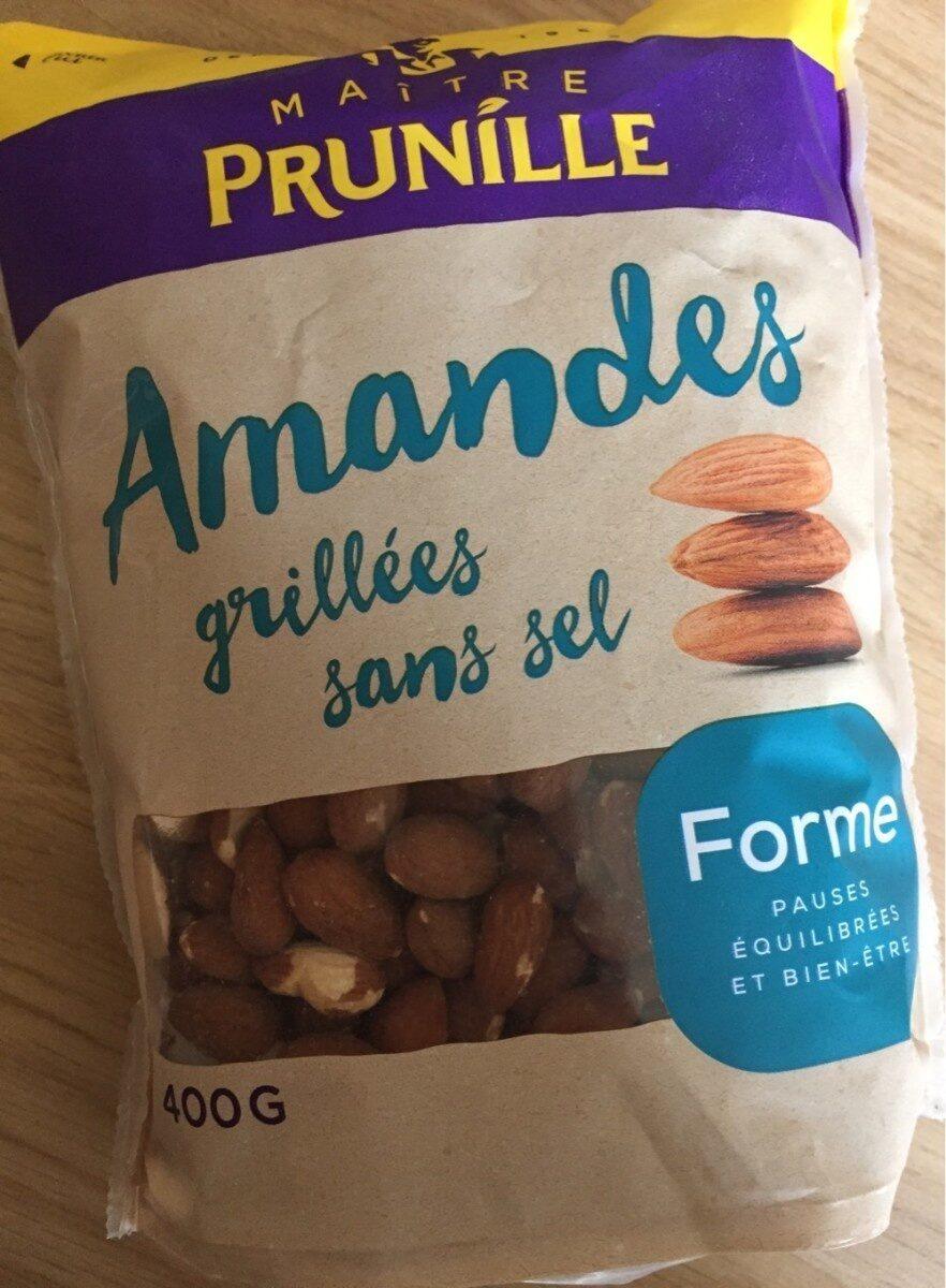 Amandes grillées sans sel - Produit - fr