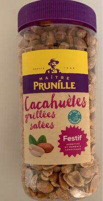 Cacahuétes grillées salées - Produit