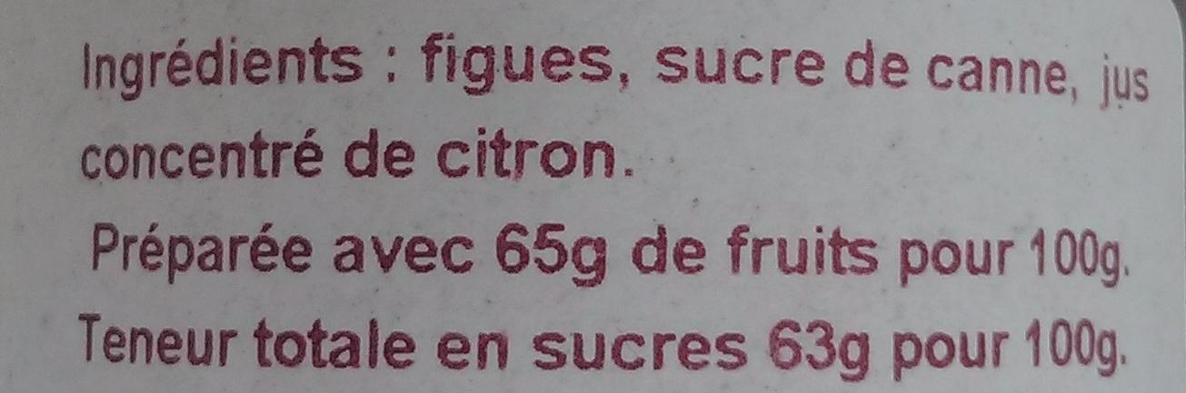 Figues - Ingredients - fr