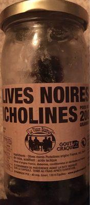 Olives noires picholines - 1