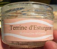 Terrine d'esturgeon - Product
