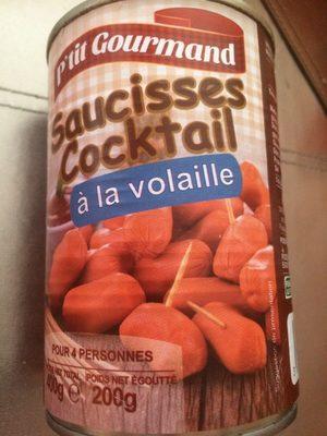 Saucisses Cocktail à la Volaille - Product - fr