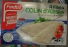 4 Filets de Colin d'Alaska - Product