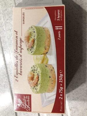 Emiéttés de saumon et bavarois d'asperge - Product - fr