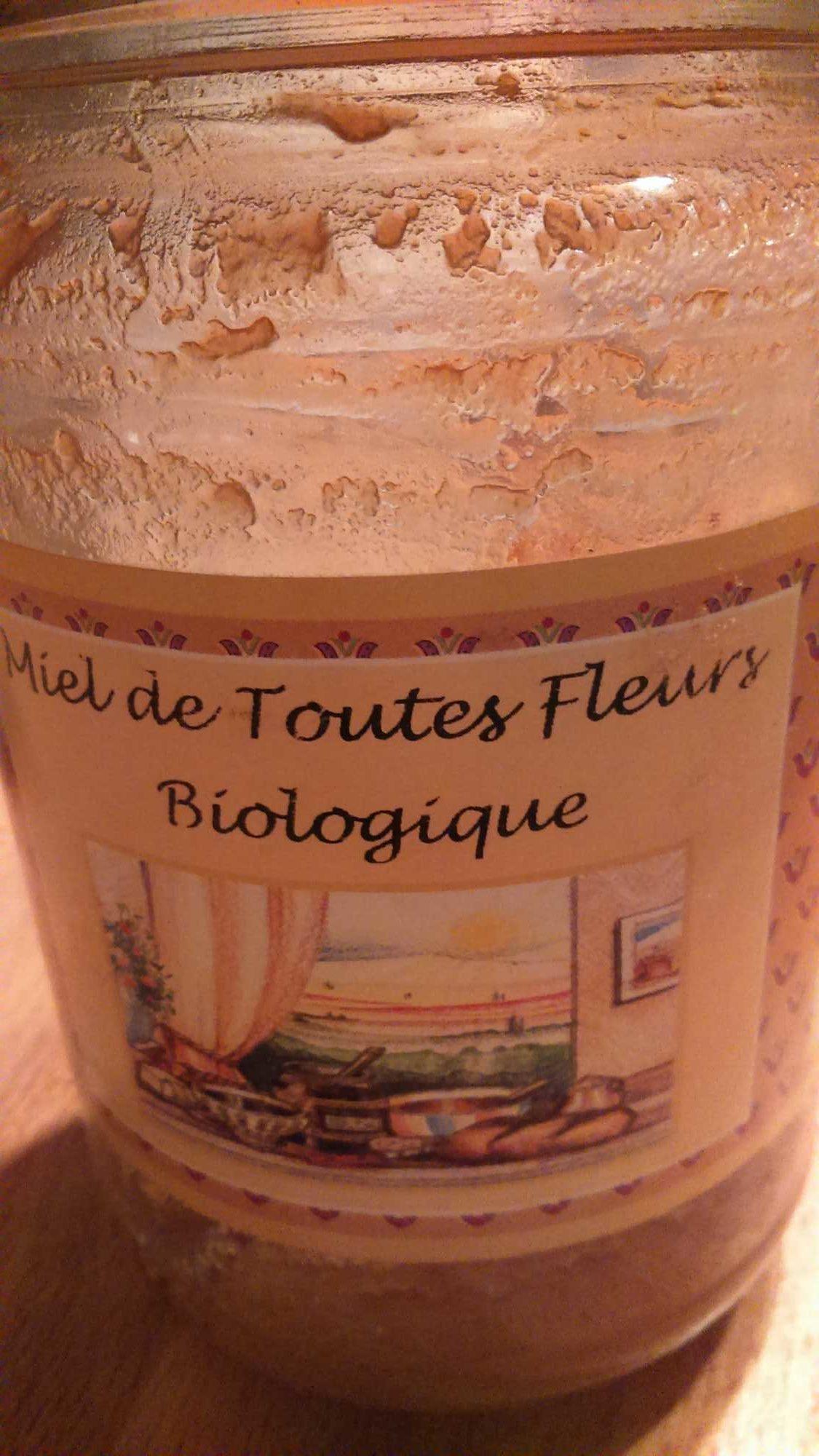 Miel de toutes fleurs biologique - Produit
