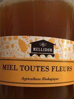 Miel de toutes fleurs biologique - Ingrédients