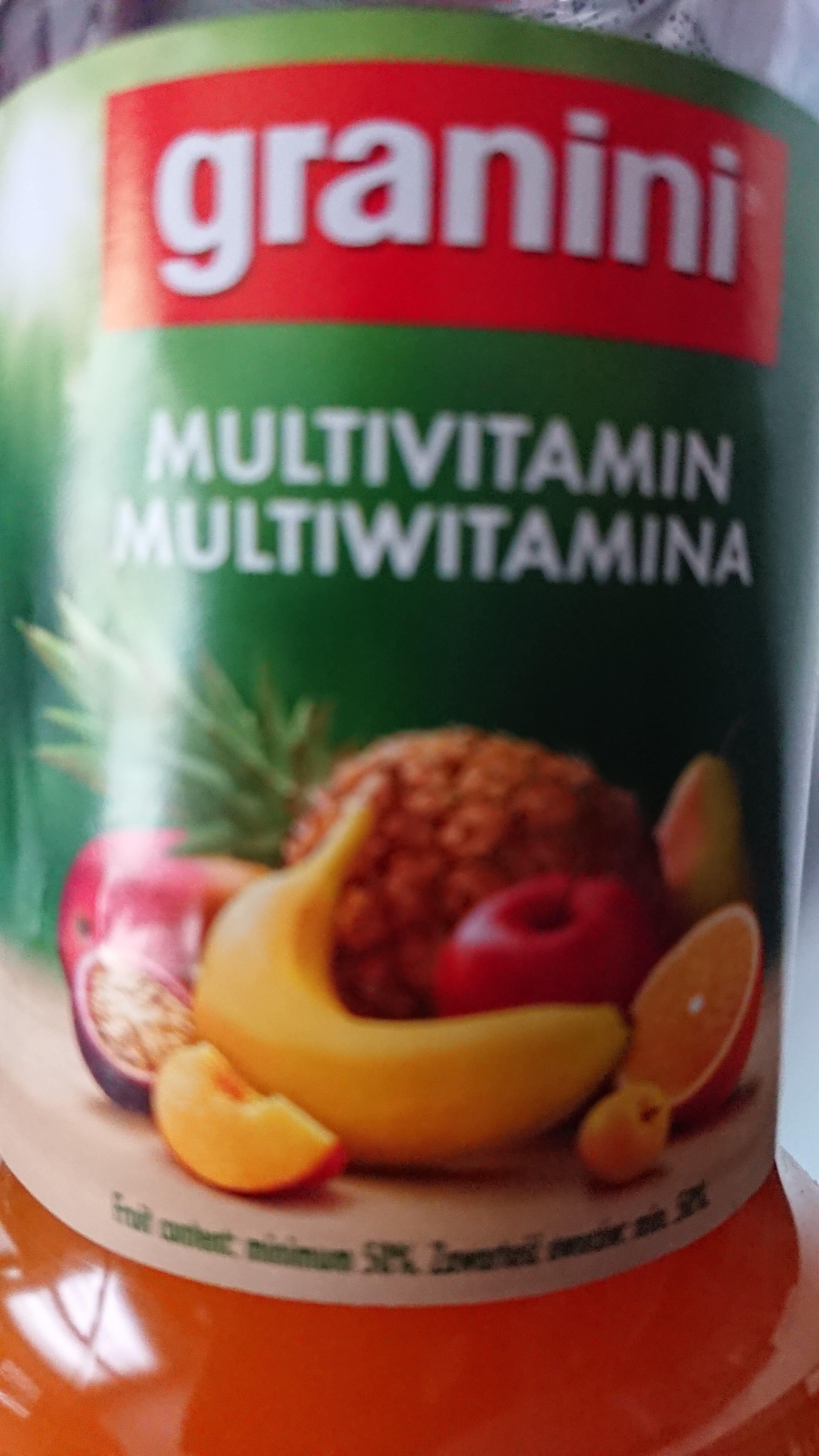 Cocktail multifruit - Product