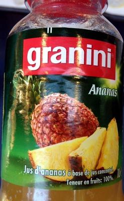 Granini Ananas - Produit - fr