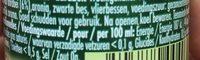 Granini Fraise - Informations nutritionnelles - fr