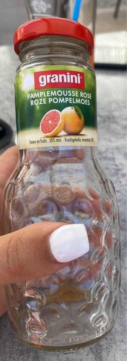 Bocal 25CL Granini Pamplemousse - Valori nutrizionali - fr