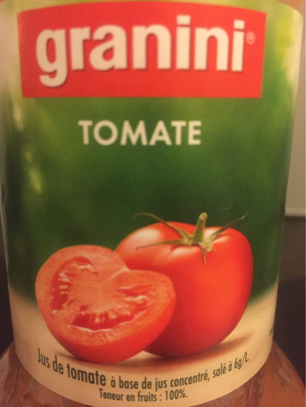 Jus de Tomate - Product