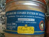 Auguste Rey - Foie Gras de Canard Entier du sud Ouest - Produit