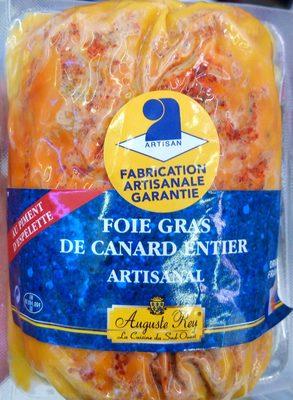 Foie gras de canard entier artisanal au piment d'Espelette - Product