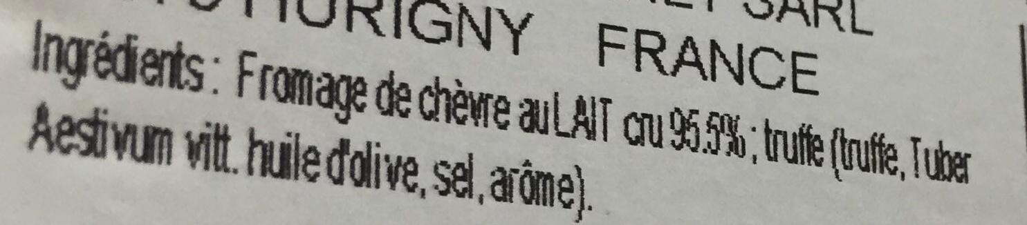 Mini barattes - Ingrédients - fr