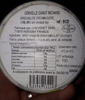 Cervelle Canut Richard - Produit - fr