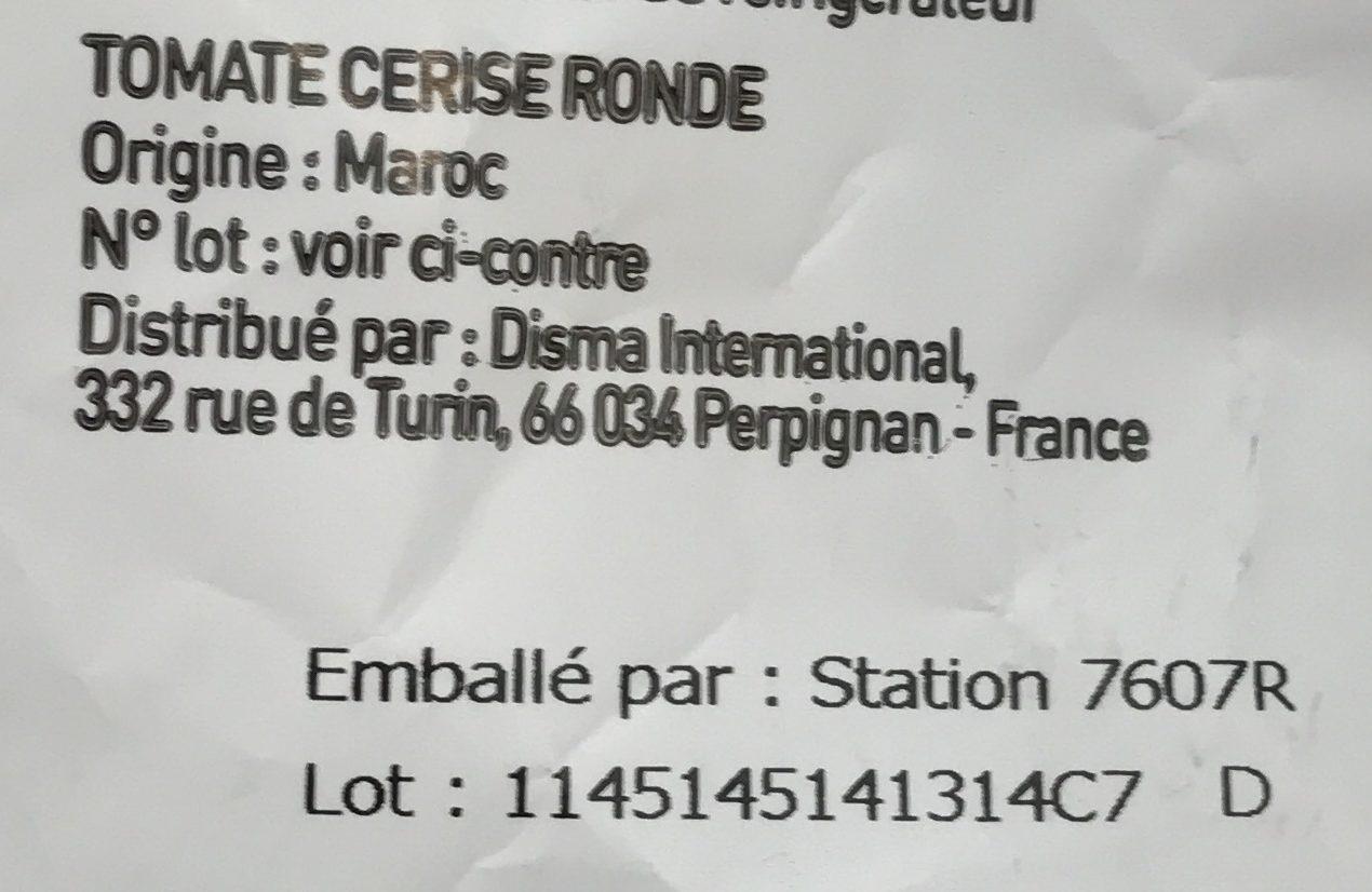 Tomates gourmet - Ingrédients - fr