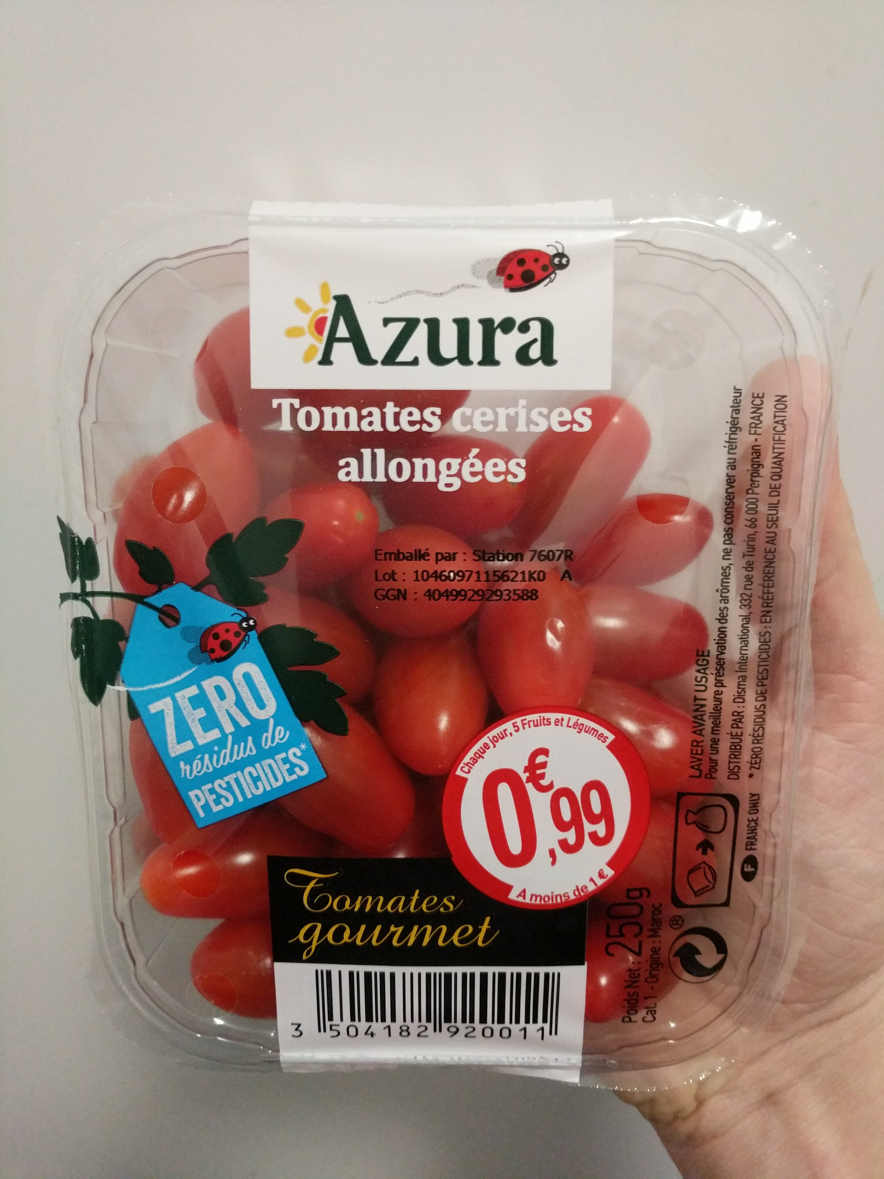 Tomates cerises allongées - Produkt