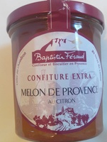 Confiture extra melon de Provence au citron - Product - fr