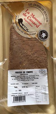 La mousse de canard - Product - fr