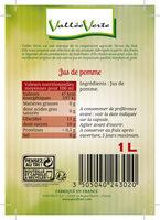 Pur jus de pomme du lot et Garonne - Ingredienti - fr