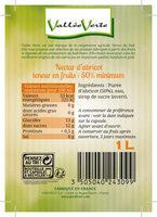 Nectar d'abricot du Pays d'Oc - Ingredienti - fr
