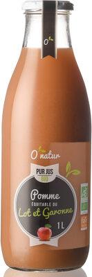 Pur Jus de Pomme du Lot et Garonne Bio - Product - fr