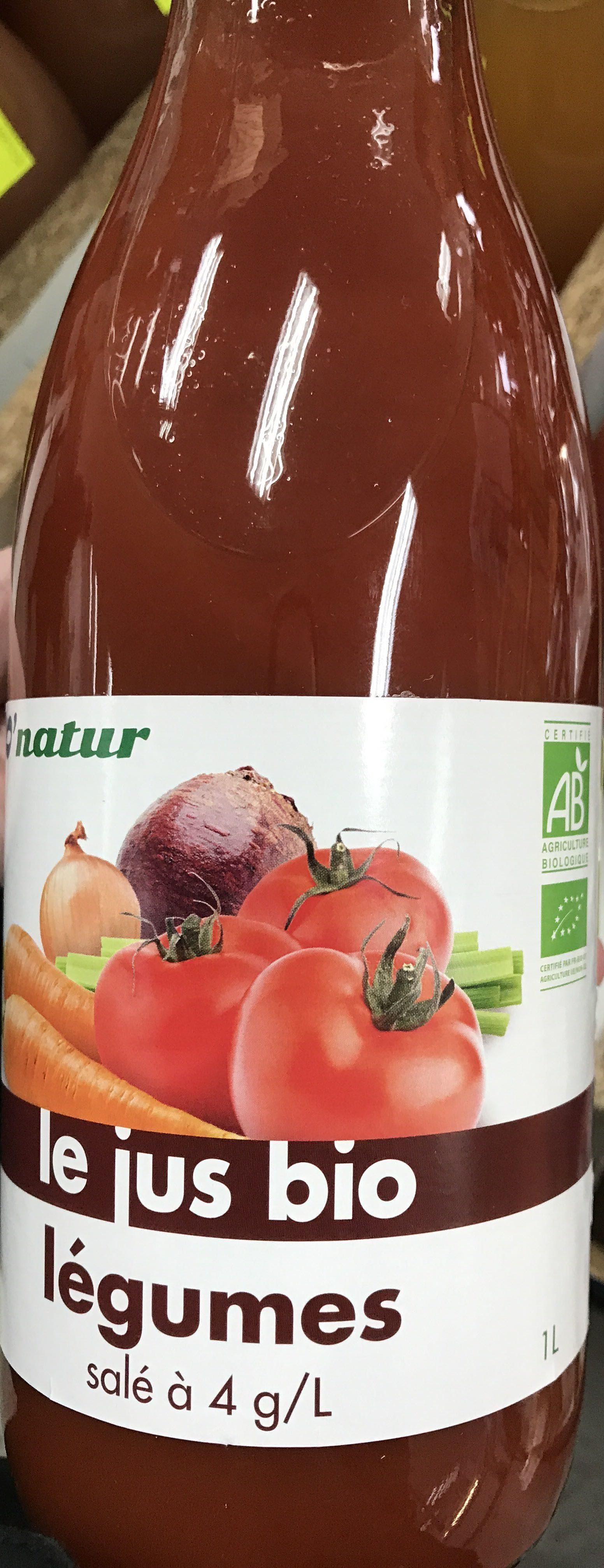 Jus de Légumes Bio - Prodotto - fr
