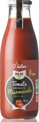 Pur Jus de Tomate de Marmande Bio Equitable - Product - fr