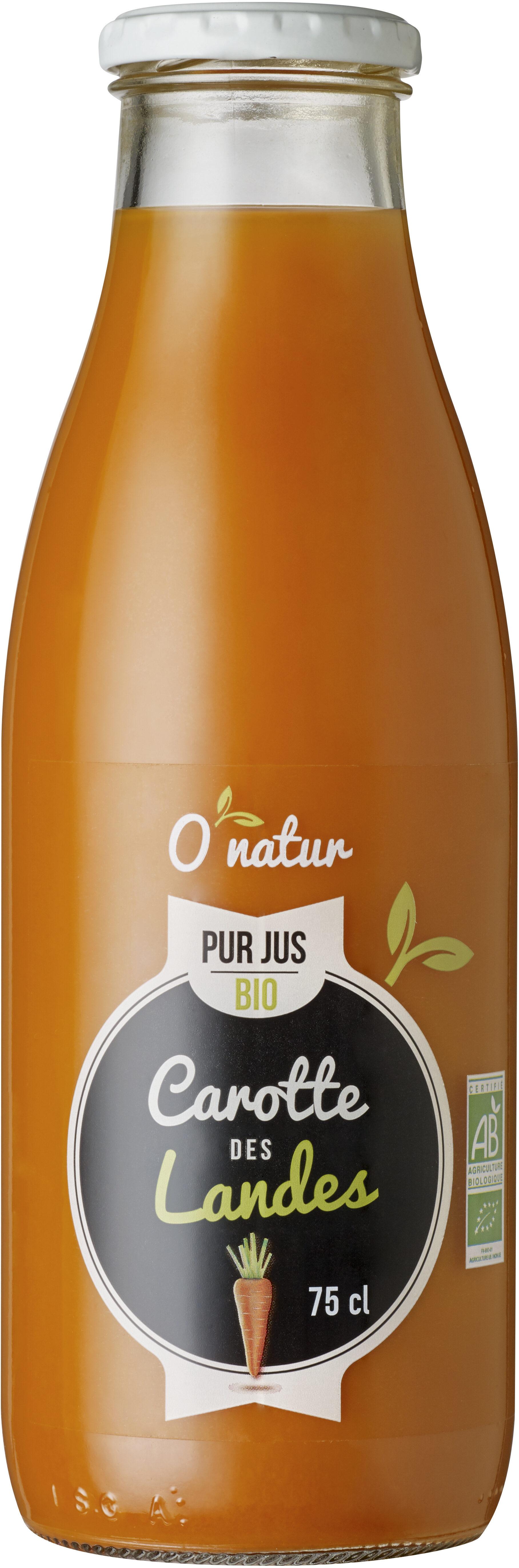 Pur Jus de Carotte des Landes Bio - Prodotto - fr