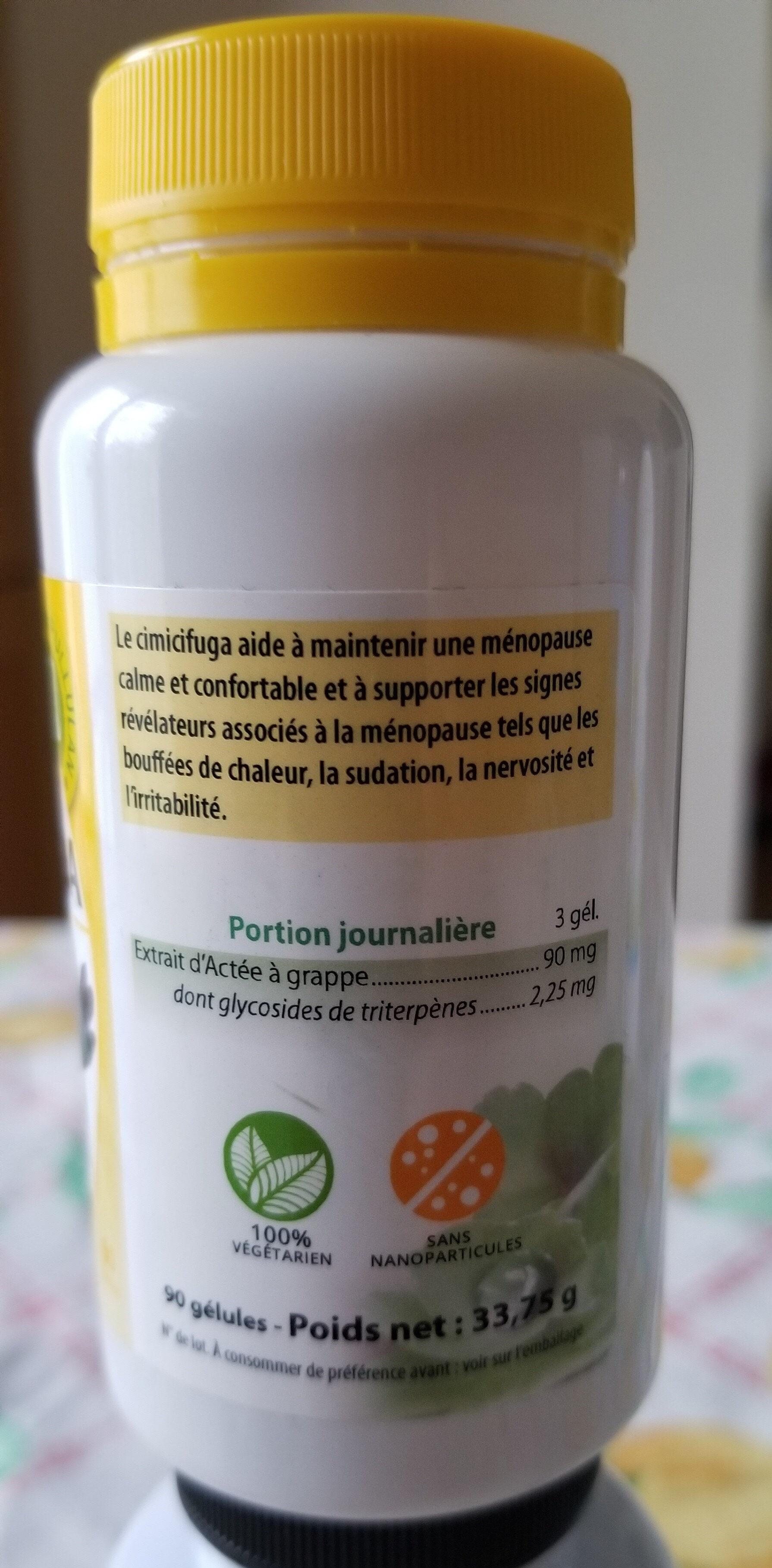 Cimicifuga - Ingredients - fr
