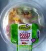 Salade poulet crudités, sauce caesar - Product