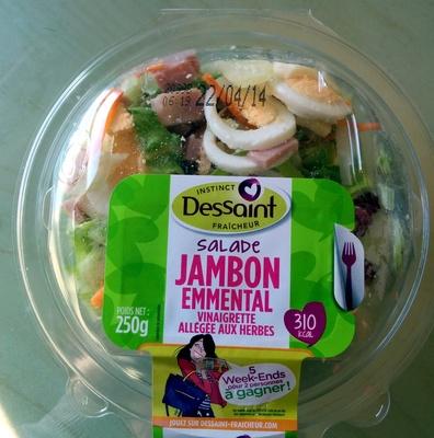 Salade Jambon Emmental - Produit - fr