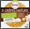 Crêpes Natures sans sucre ajouté x8 - Product