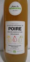 Le pur jus artisanal de poire - Prodotto - fr