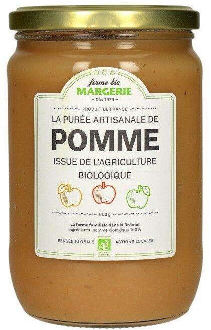 purée artisanale de pomme - Produit - fr