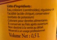 Colorant jaune - Produit - fr
