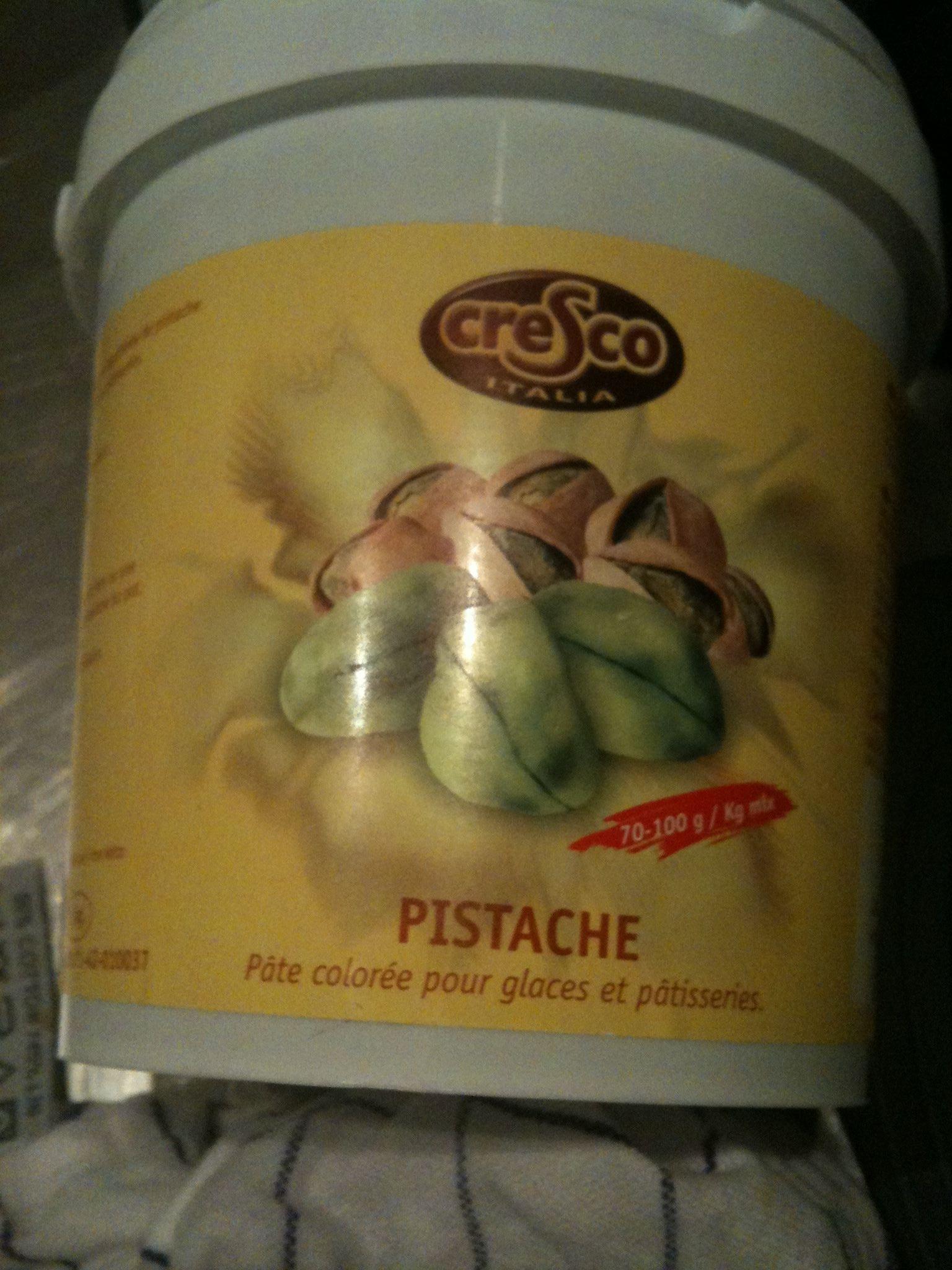 Pistache , pâte aromatique colorée pour glaces et pâtisseries - Produit - fr