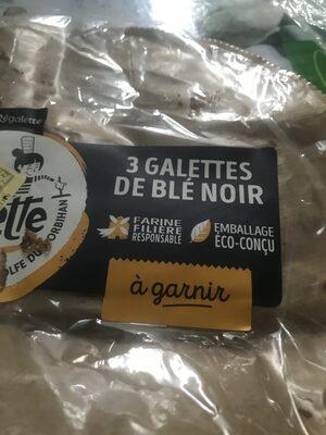 Galettes de blé noir - Product - fr
