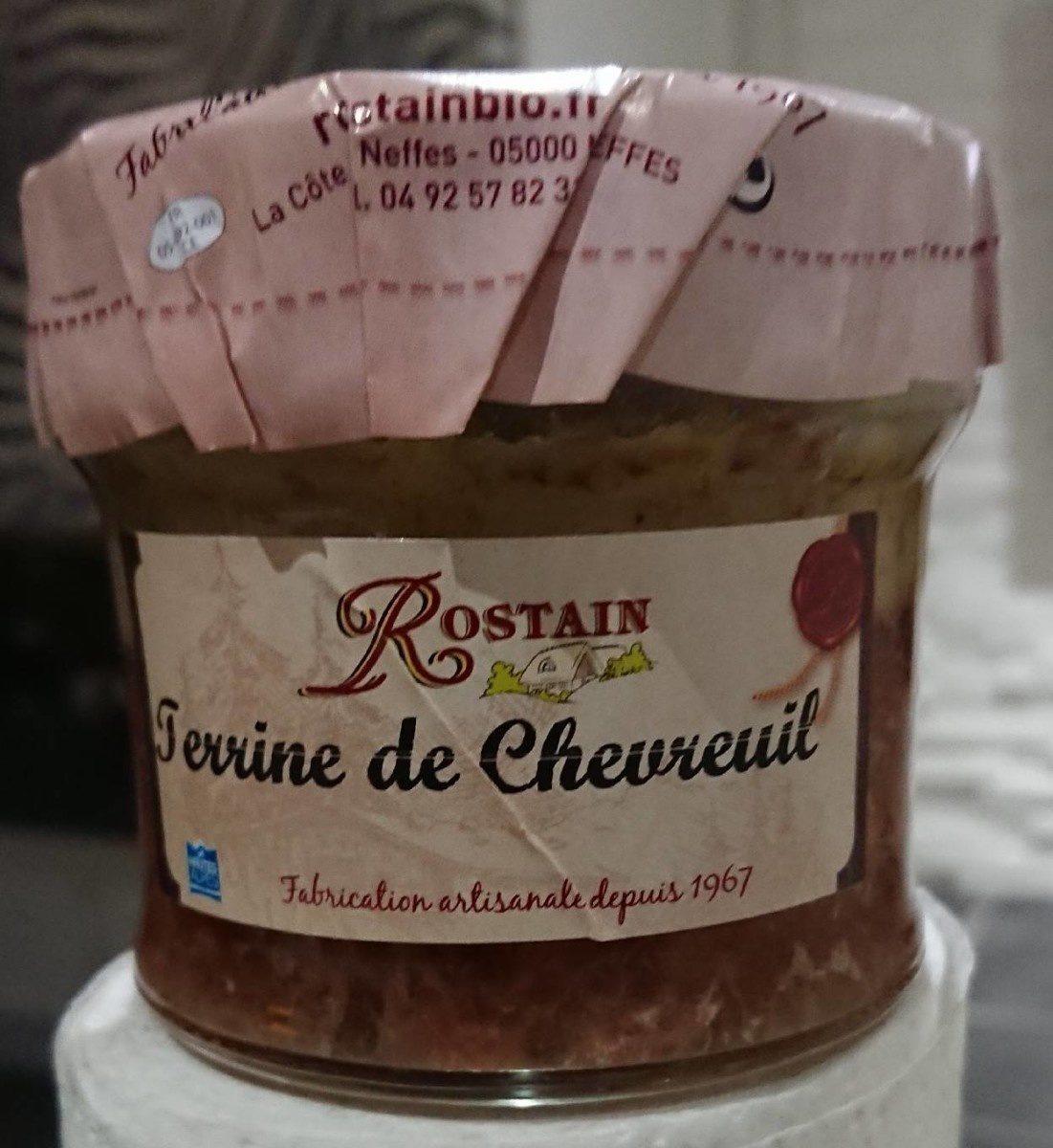 Terrine de chevreuil - Produit - fr