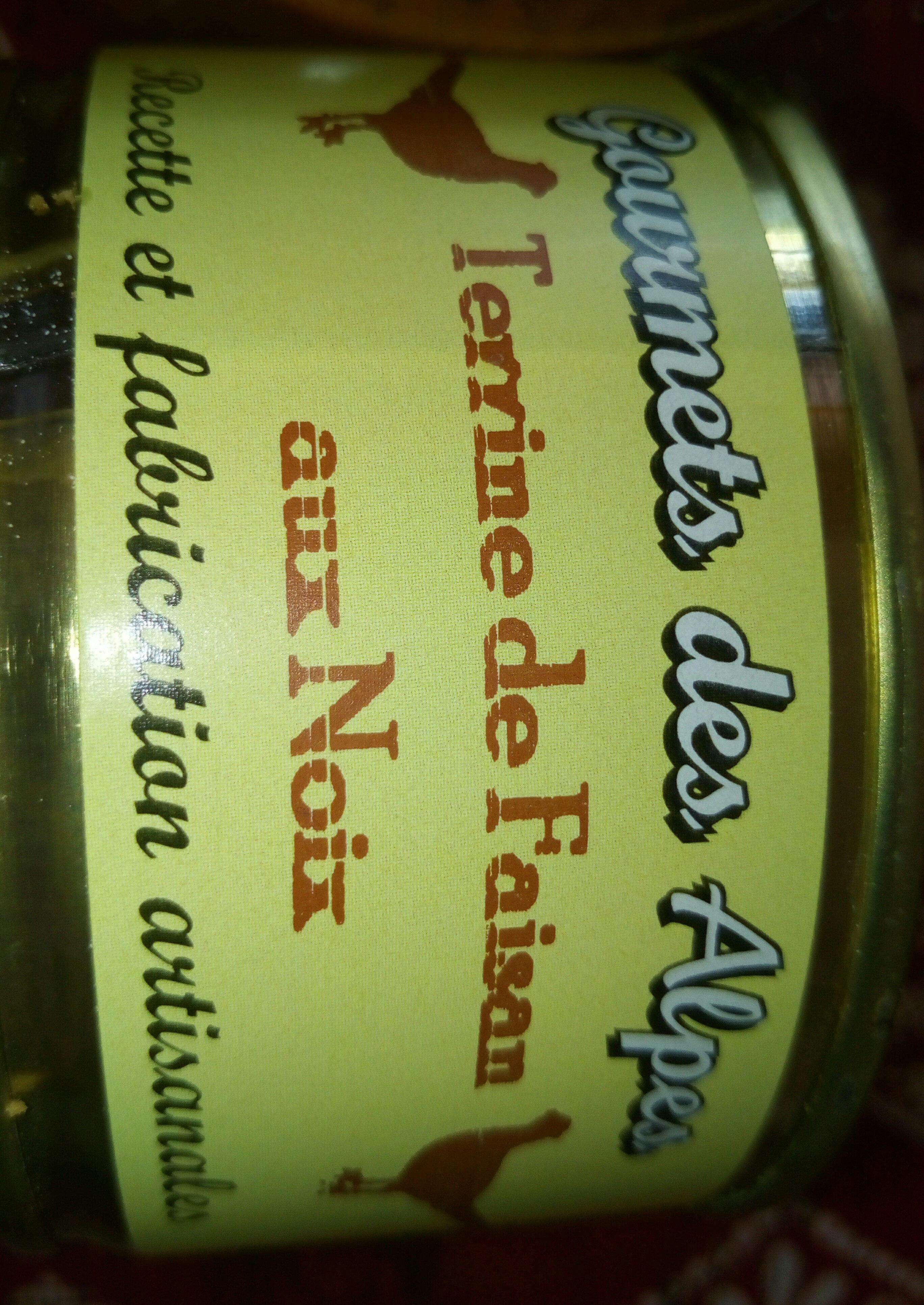 Terrine de faisan aux noix - Product - fr