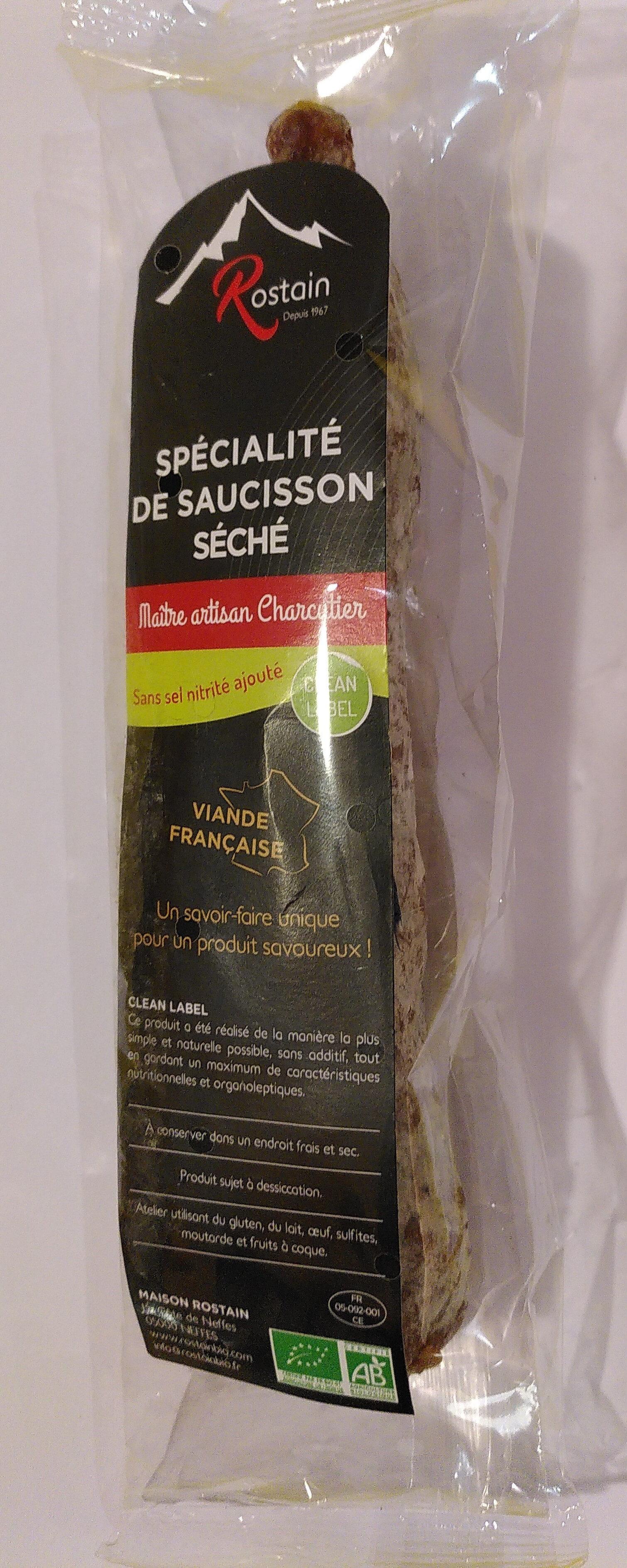 Spécialité de saucisson séché - Product - fr