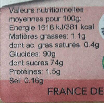 CREME BRULEE 40G POUR 1 QUART LAIT-1 QUART CREME F - Nutrition facts - fr