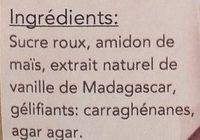 Préparation pour Panna Cotta naturel - Ingredients