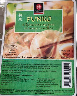 Funko Porc Crevette 016 PCS - Product - fr