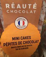 Mini cakes pepites de chocolat - Produit
