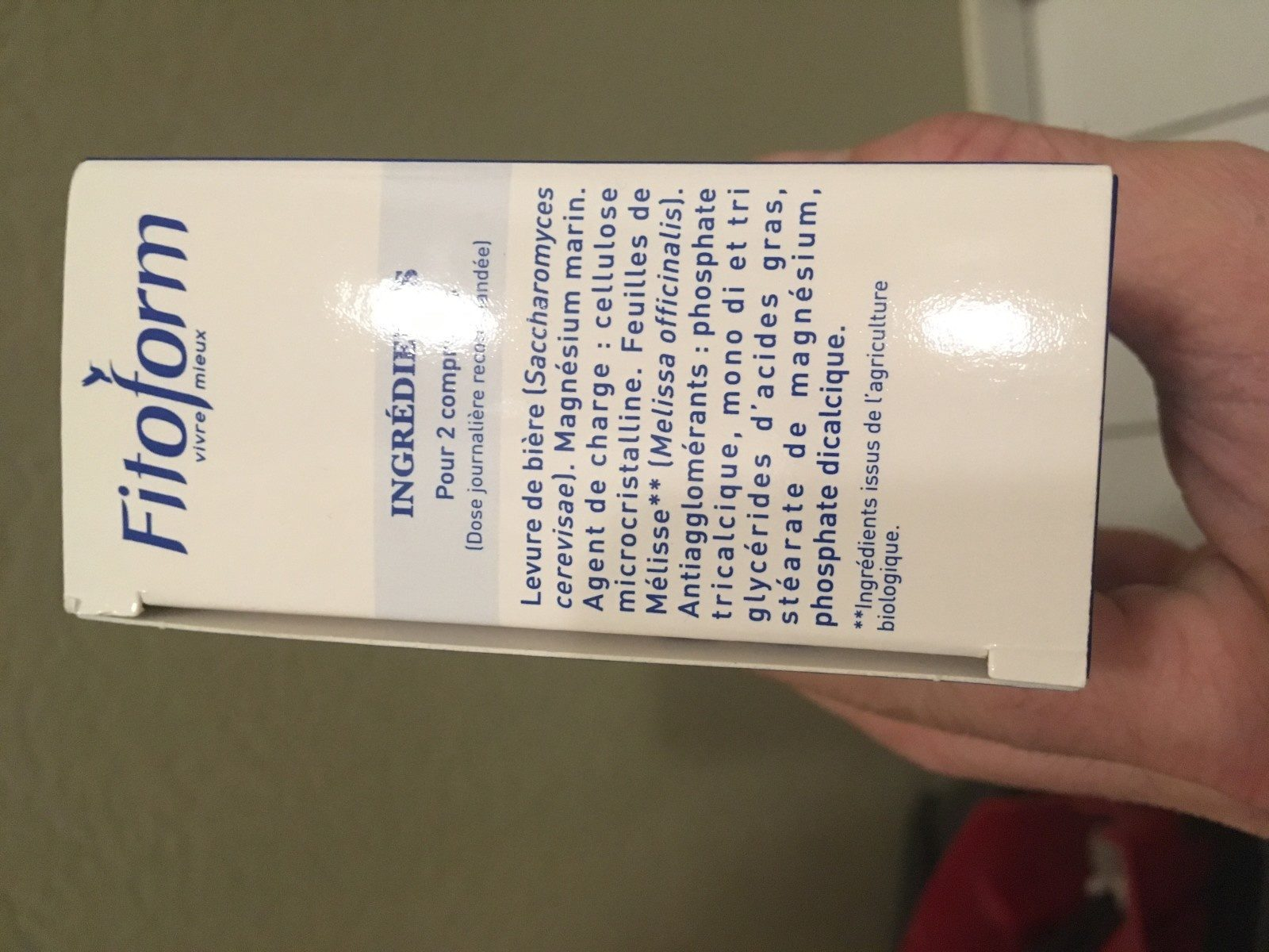 Magnésium Marin - 60 Comprimés - Fitoform - Ingrédients