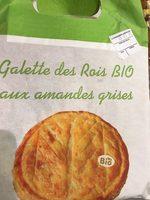 Galette frangipane bio 18cm - Voedingswaarden