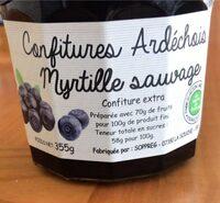 Confiture myrtille sauvage - Prodotto - fr