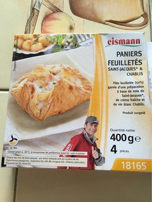 Paniers feuilletes saint-jacques - Produit