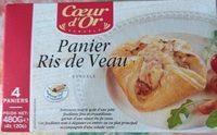 Panier ris de veau - Product